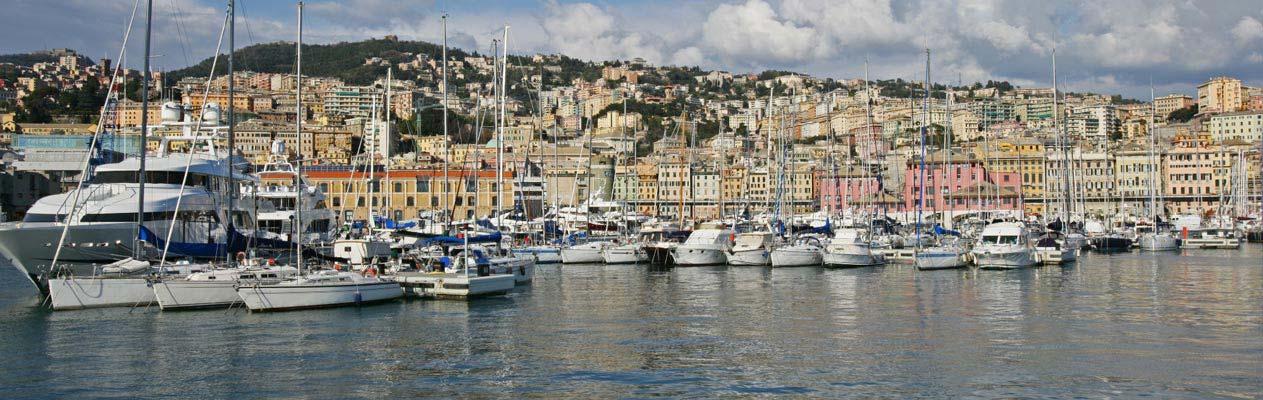 Port de Gênes, Italie