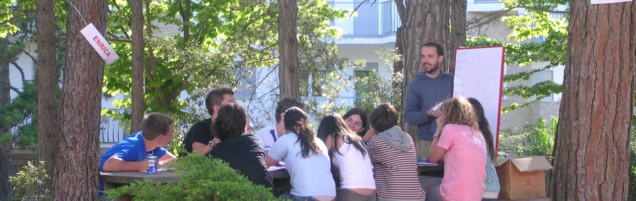 Cours d'été pour jeunes à Lignano