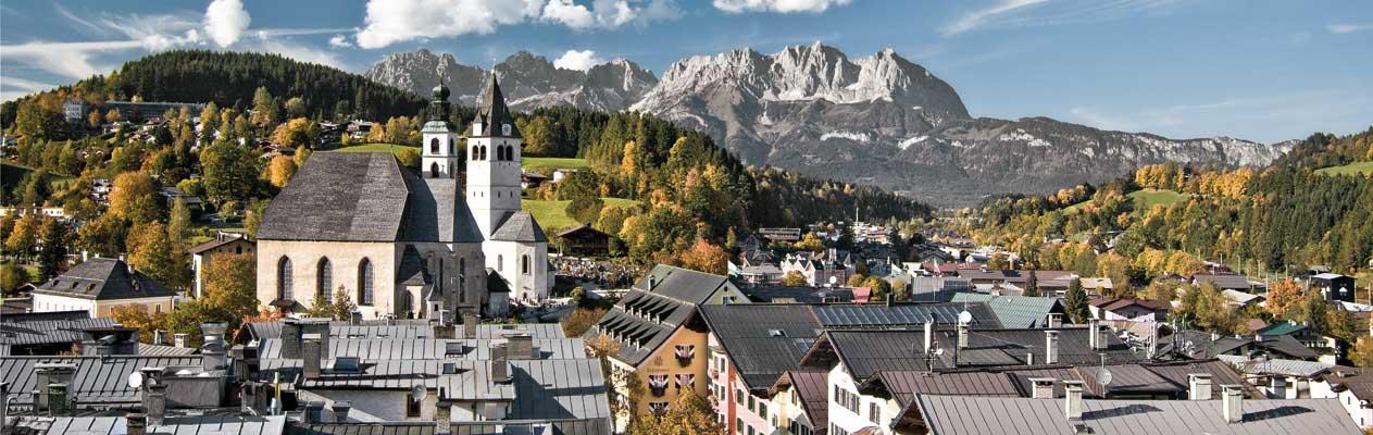 Kitzbühel en été, Autriche