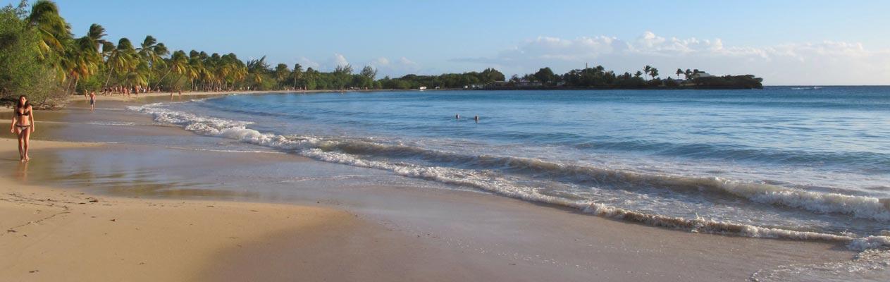 Plage près de Fort-de-France, Martinique