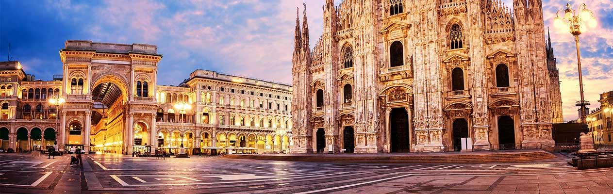 Dôme de Milan et galerie Victor-Emmanuel II