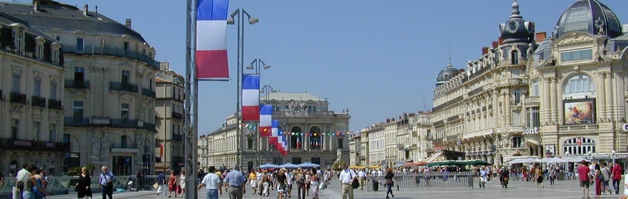 Montpellier (Place de la Comedie)