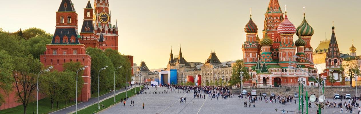 Cathédrale Saint-Basile de Moscou, Russie