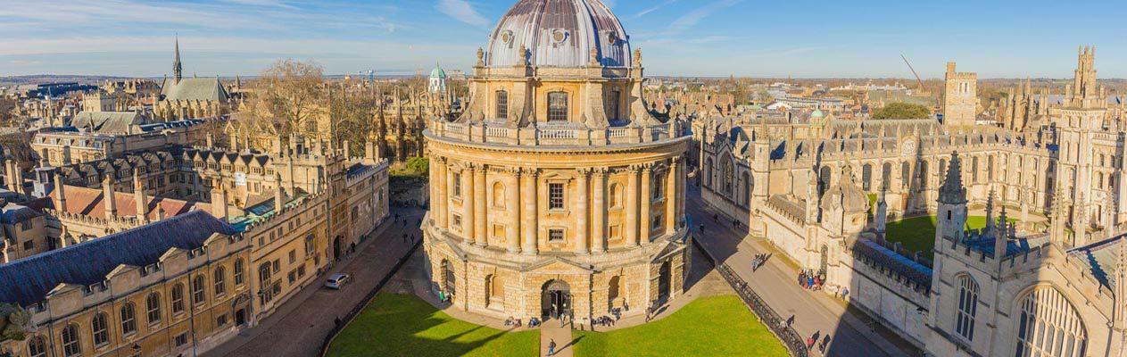 La Radcliffe Camera à l'université d'Oxford