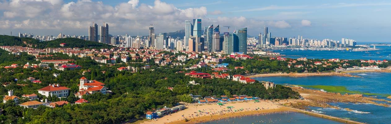 Ville de Qingdao, Chine