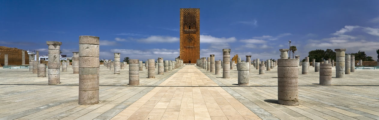 Tour Hassan à Rabat, Maroc