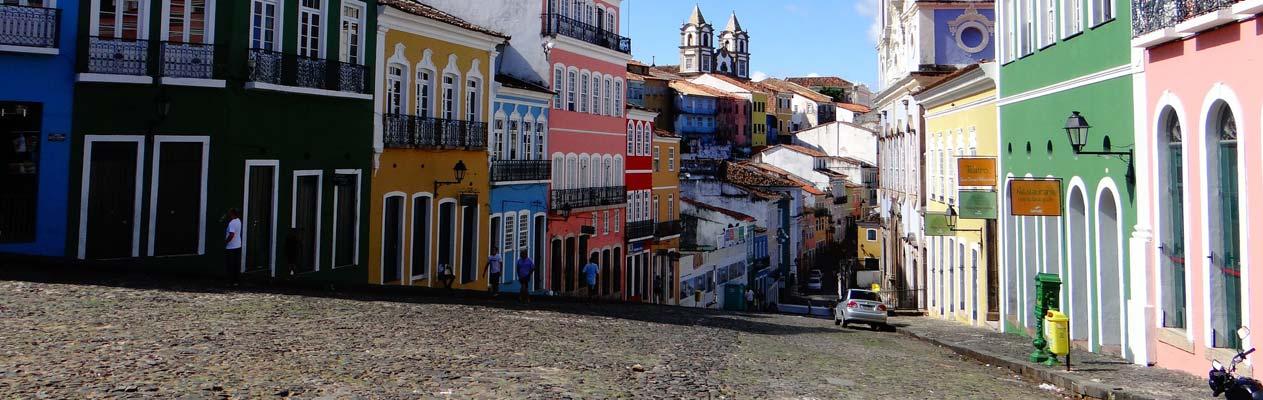 Salvador de Bahia, capitale de l'État Bahia au Brésil