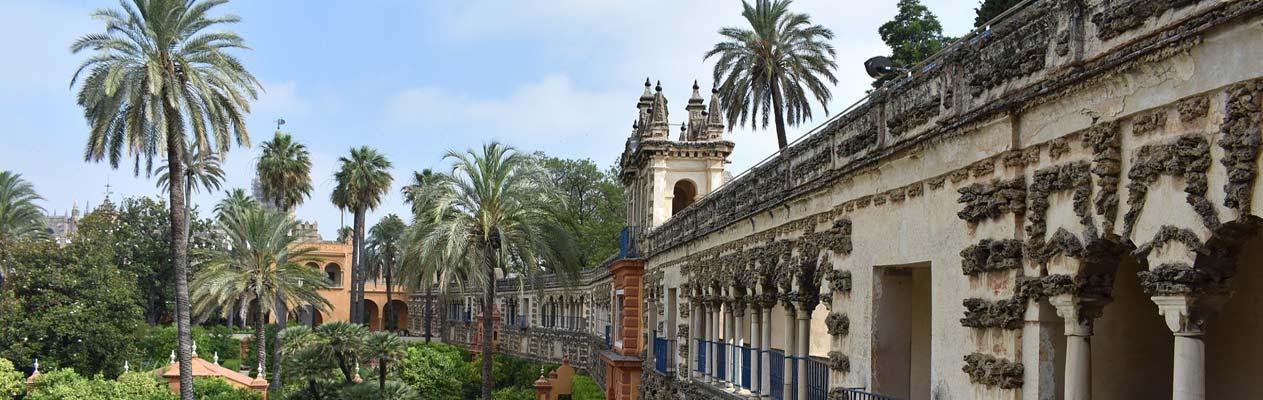 Place d'Espagne à Séville, Espagne