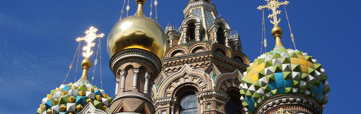La cathédrale Saint-Sauveur-sur-le-Sang-Versé de Saint Pétersbourg