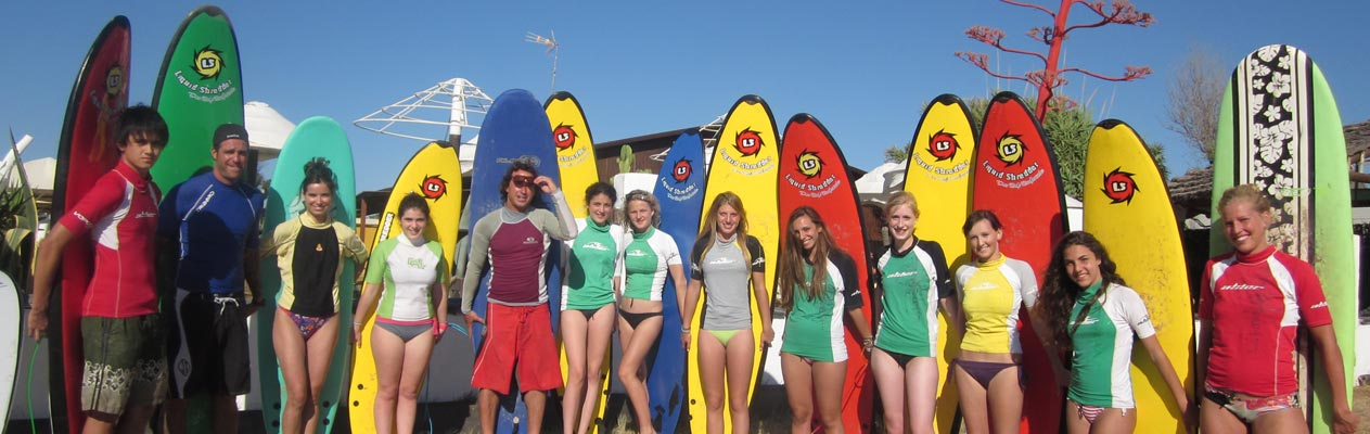 Surfer à Vejer