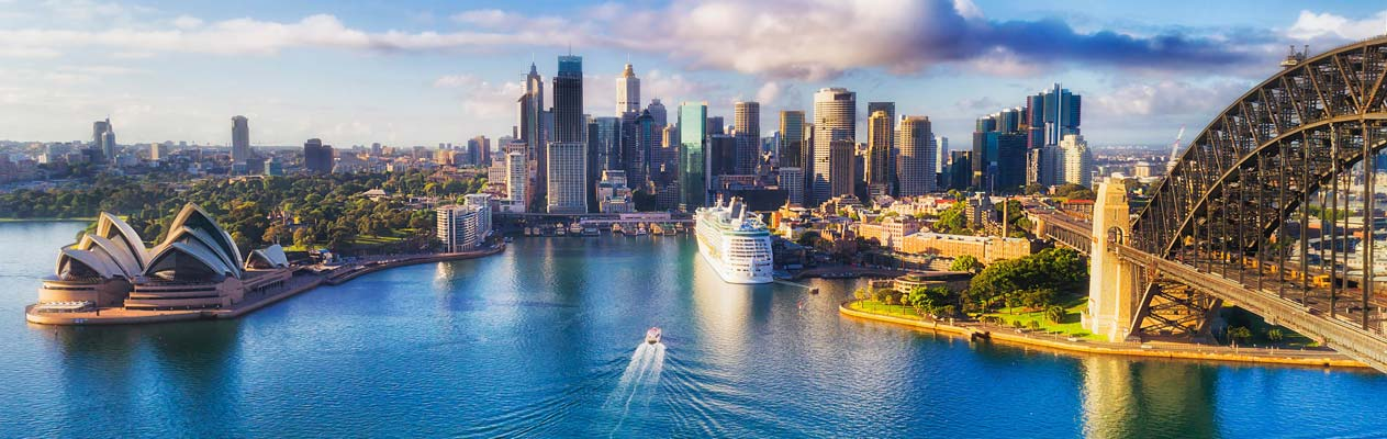 Sydney : opéra et port, Australie