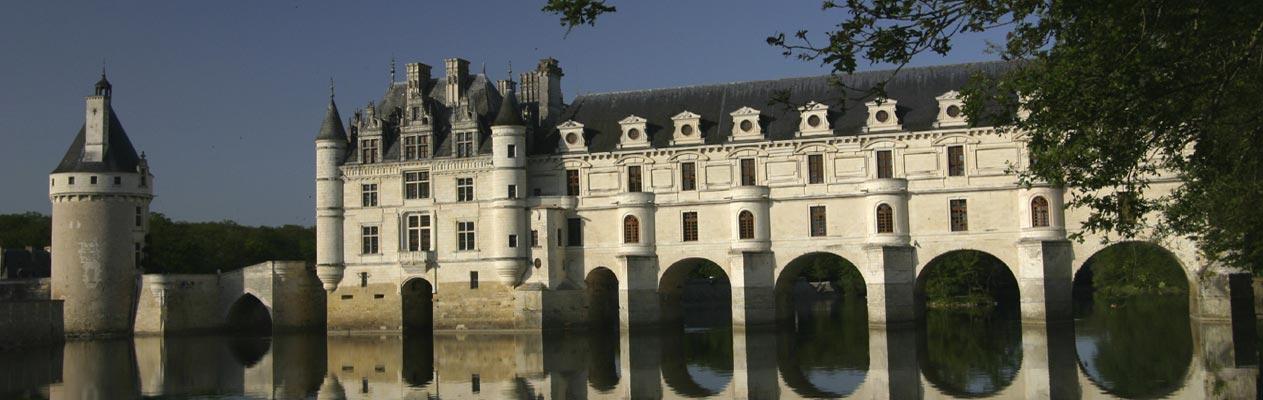 Château de Chenonceau, près de Tours en France