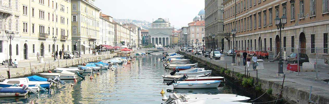 Grand Canal de Trieste, Italie