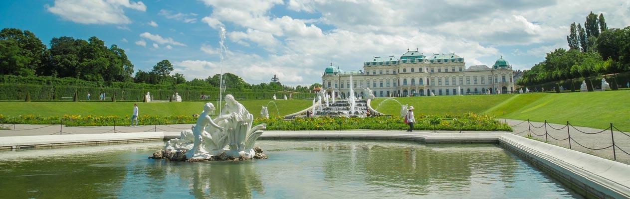 Palais du Belvédère de Vienne, Autriche