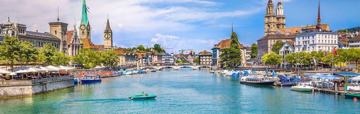 Zurich, la plus grande ville de Suisse